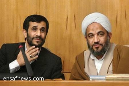 مرتضی آقاتهرانی - محمود احمدی نژاد
