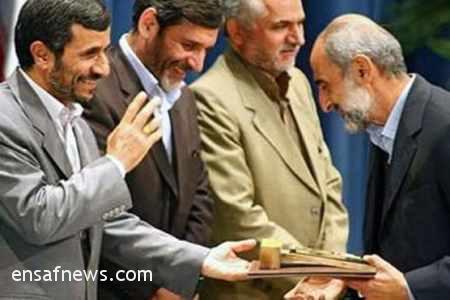 حسین شریعتمداری - محمود احمدی نژاد