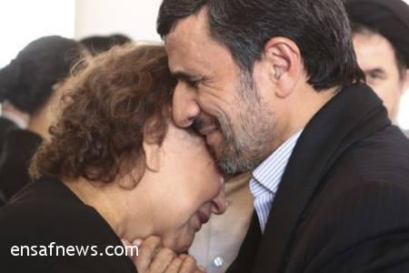 محمود احمدی نژاد - مادر هوگو چاوز