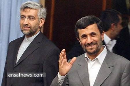 محمود احمدی نژاد - سعید جلیلی