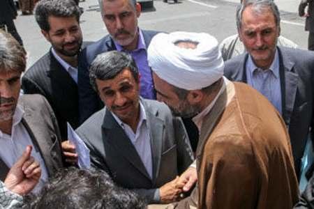 حمید رسایی - محمود احمدی نژاد