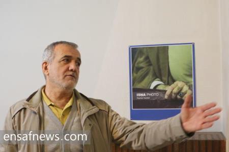 مسعود پزشکیان در دفتر انصاف نیوز