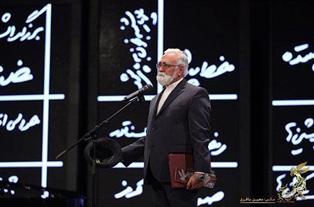 غلامرضا موسوی در افتتاحیه فیلم فجر