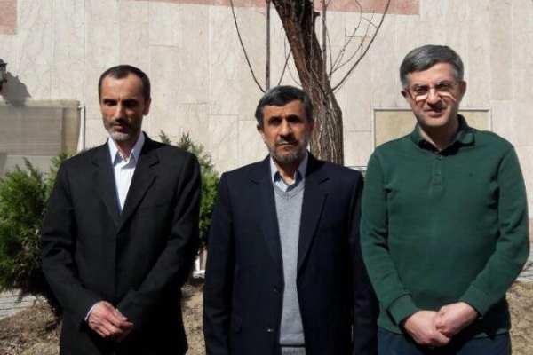 مشایی - احمدی نژاد - حمید بقایی