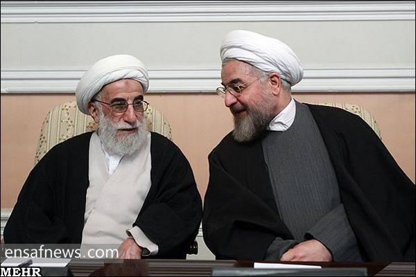 حسن روحانی - احمد جنتی