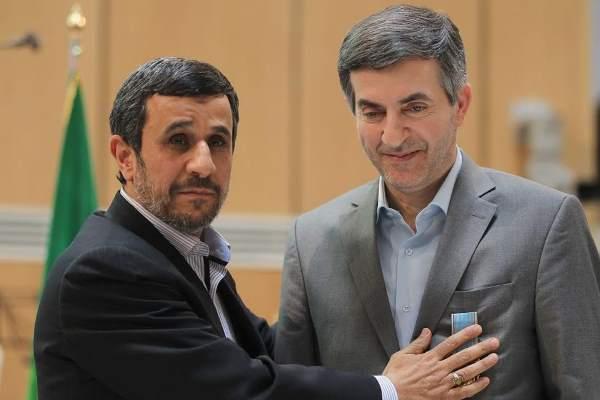 اسفندیار رحیم مشایی - محمود احمدی نژاد