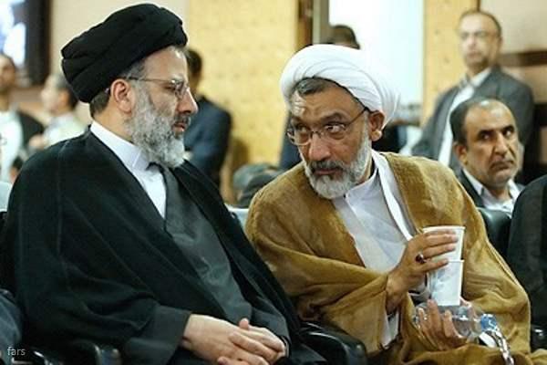 مصطفی پورمحمدی - ابراهیم رئیسی