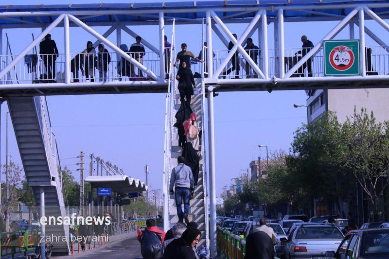 گزارش تصویری پایتخت تا انتخابات