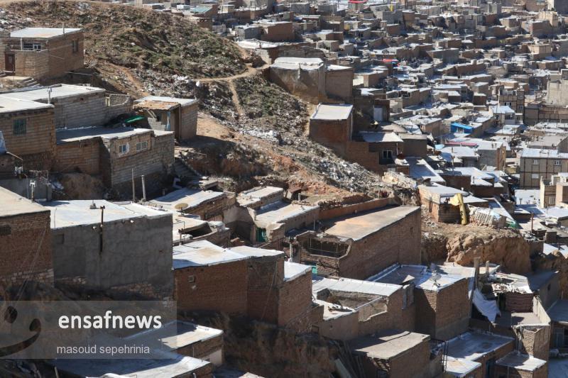 عکس ها | حاشیه نشینی در تبریز