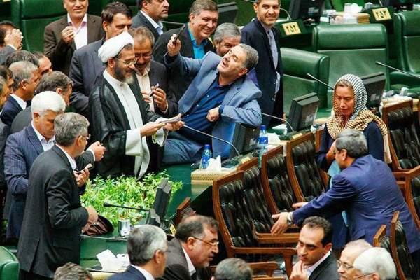 فدریکا موگرینی در مجلس