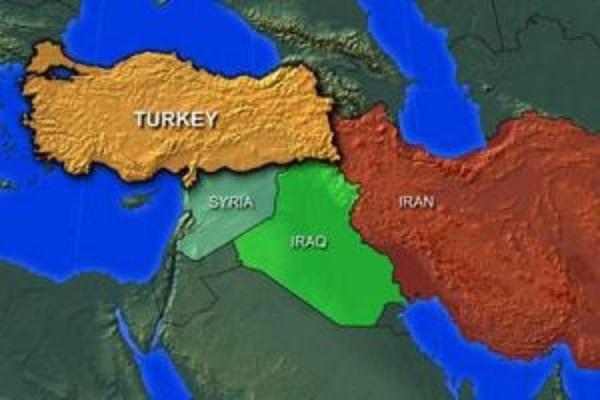 ترکیه - سوریه - عراق - ایران