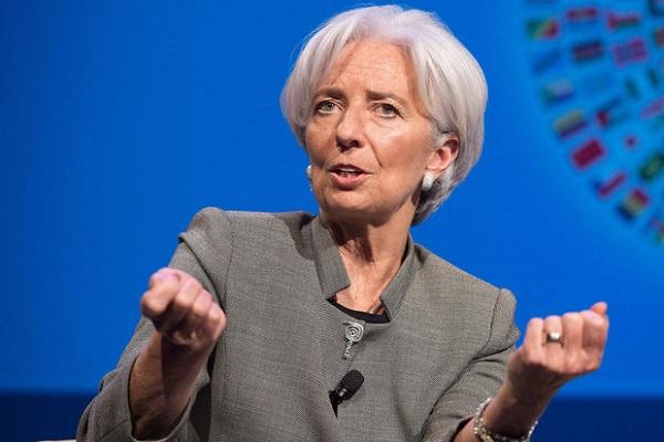 لاگارد - رییس صندوق بین المللی پول