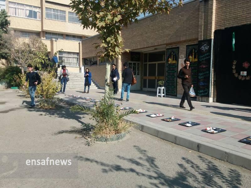 اعتراض دانشجویان دانشگاه تهران به کیفیت غذا