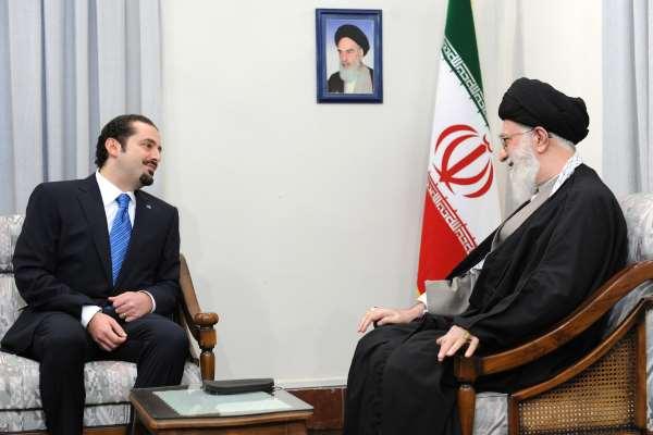 رهبری آیت الله خامنه ای - سعد حریری نخست وزیر لبنان