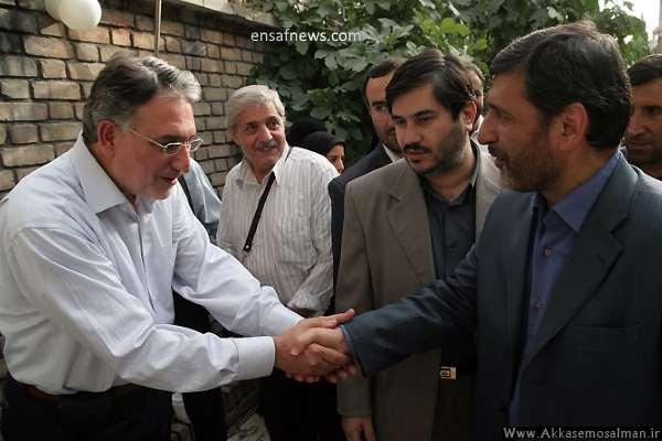 حسین صفار هرندی - محمد نوری زاد - قائم مقام مدیرمسوول کیهان و نویسنده کیهان در سالهای پیش