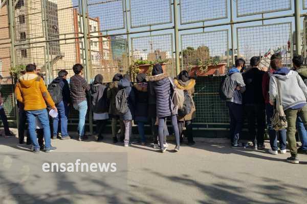 ورود دانشجویان زن به زمین چمن دانشگاه امیرکبیر، ممنوع!