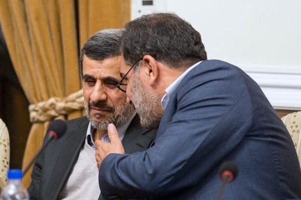 جزییات حرفهای عجیب احمدی نژاد با شمخانی
