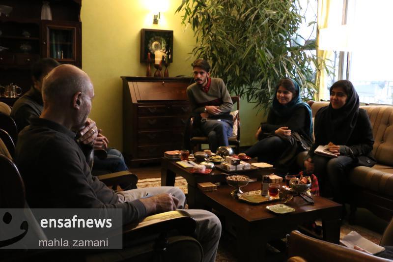 گزارش تصویری | گعده انصاف نیوز با بهزاد نبوی