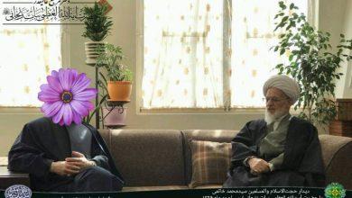 دیدار آیت الله بیات زنجانی و سیدمحمد خاتمی