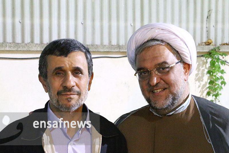 عباس امیری فر و محمود احمدی نژاد