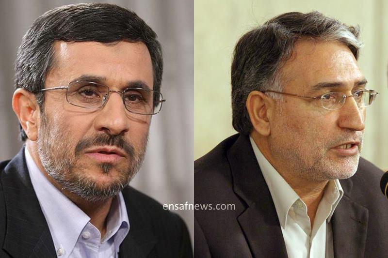 محمد نوری زاد - محمود احمدی نژاد