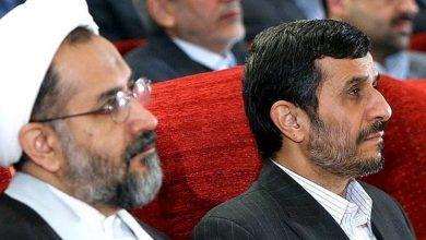 حمود احمدی نژاد و حیدر مصلحی