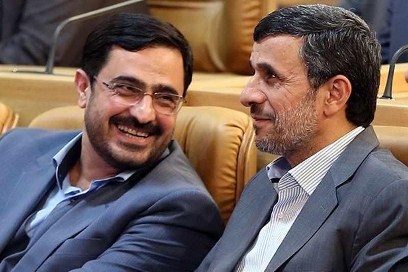 محمود احمدی نژاد و سعید مرتضوی
