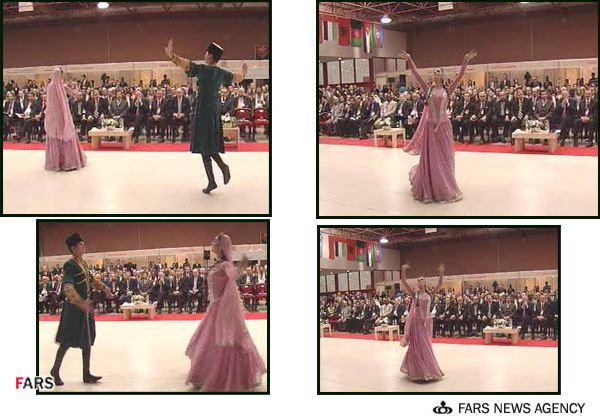 رقص زنان بزرگسال در حضور مشایی، معاون احمدی نژاد در آن دولت