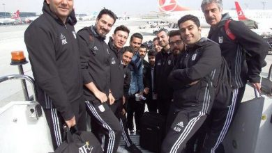 تیم ملی فوتبال وارد تونس شد
