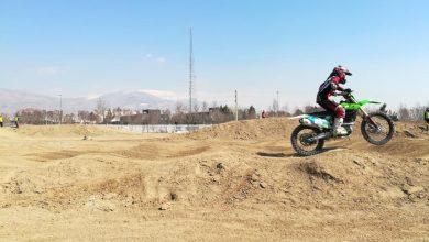 مسابقه موتور کراس بانوان