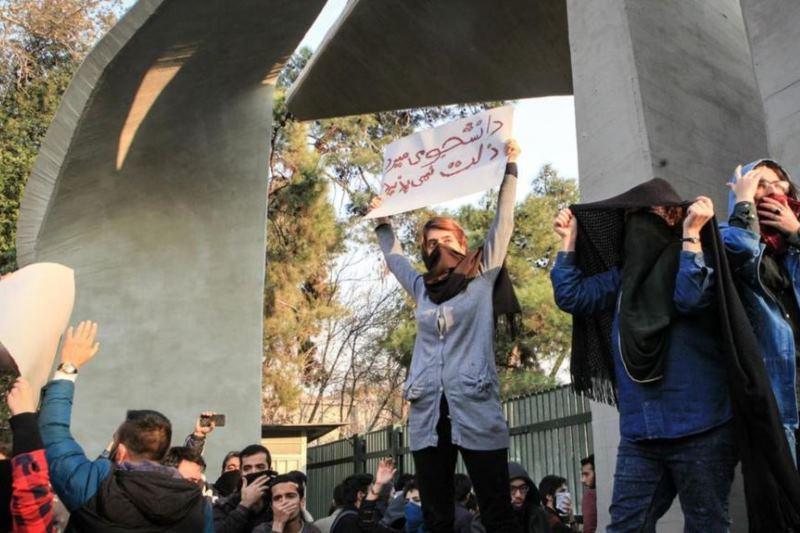 اعتراضات دانشجویی در دانشگاه تهران