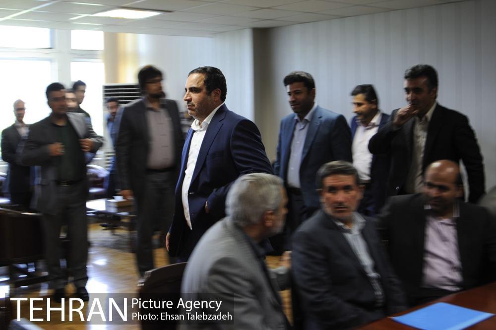 دیدار صمیمانه کارکنان شهرداری تهران با عیسی شریفی 47h