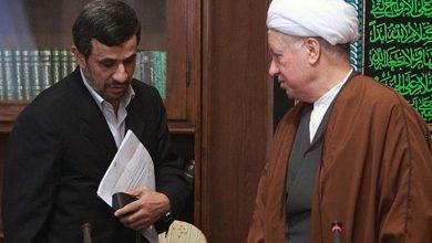 هاشمی رفسنجانی و محمود احمدی نژاد