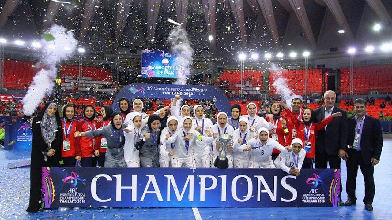 تبریک روحانی به زنان فوتسالیست قهرمان آسیا