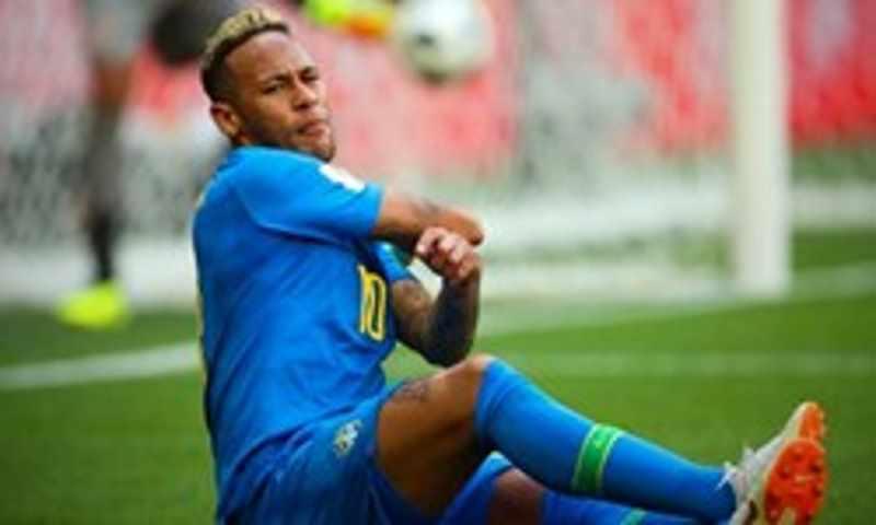 عکس   بغض نیمار بعد از پیروزی مقابل کاستاریکا ترکید