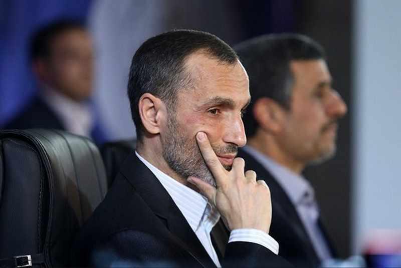 محمود احمدی نژاد و حمید بقایی