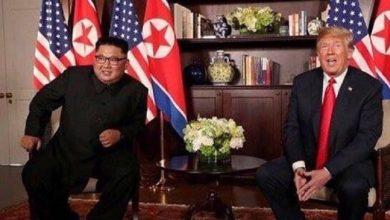 دونالد ترامپ و کیم جونگ اون