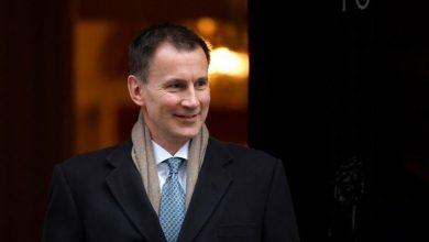 جرمی هانت - وزیر خارجه انگلیس