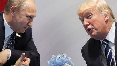 دونالد ترامپ - ولادیمیر پوتین
