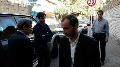 بقایی با بدرقهی احمدی نژاد به اوین برگشت