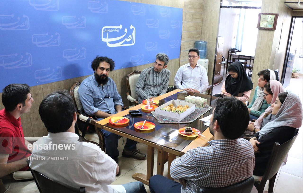 گزارش تصویری | گعده انصاف با یاسر عرب