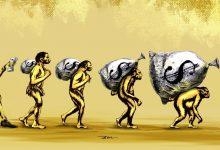 کارتون | سیر تکاملی مختلس! کاری از بنیامین آل علی