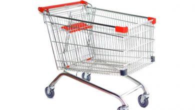 چرخ خرید از فروشگاه
