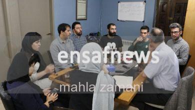 گزارش تصویری | گعده انصاف با احمد زیدآبادی