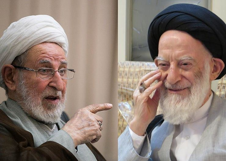 آیت الله شبیری زنجانی و آیت الله محمد یزدی