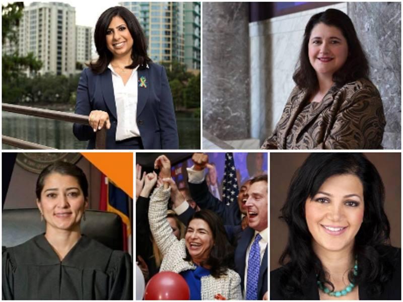 چهار زن ایرانی آمریکایی پیروز در برابر حزب ترامپ