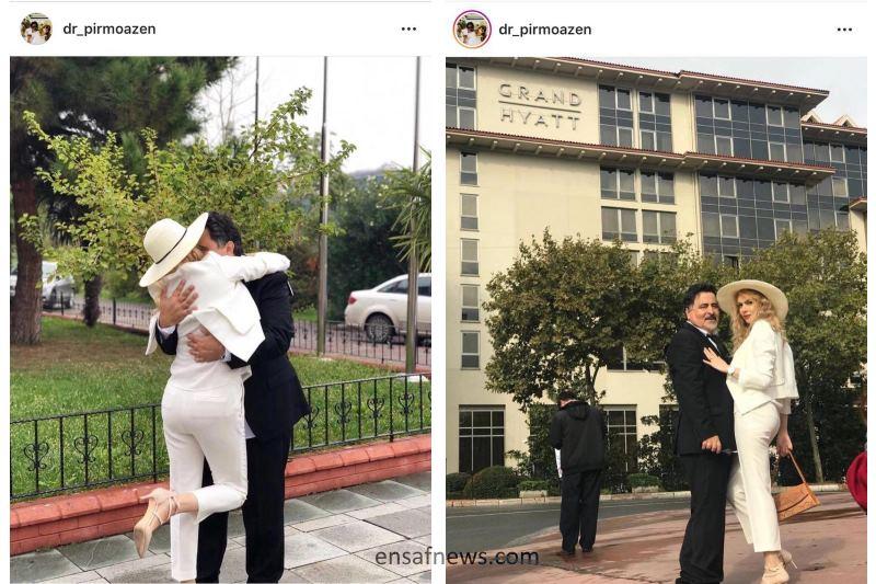 عکس | همسر جدید نماینده سابق اردبیل در آمریکا