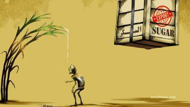 کارتون | دستمزد کارگر کاری از بنیامین آل علی کارتونیست انصاف نیوز