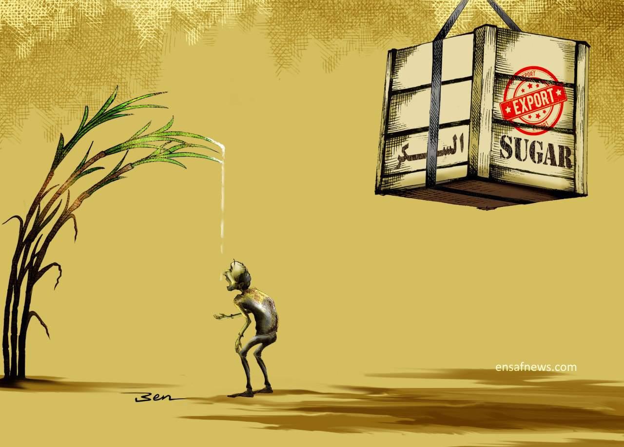 کارتون   دستمزد کارگر کاری از بنیامین آل علی کارتونیست انصاف نیوز