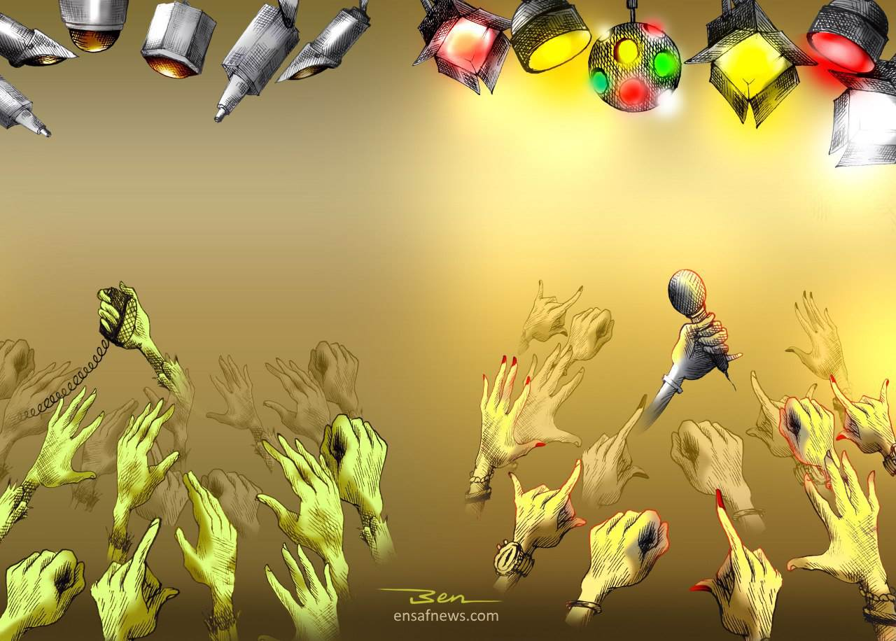 کارتون | دنس سلبریتی ها تا حبس پاپتیها